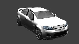 3D holden commodore ve