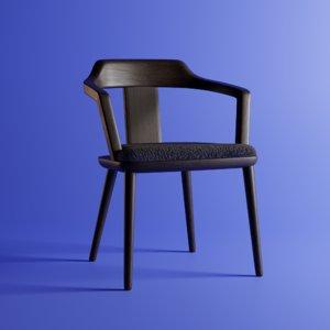 tilly chair 3D model