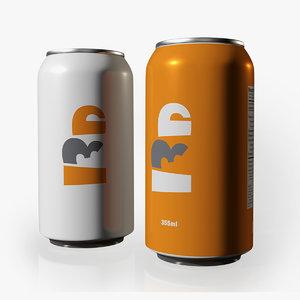soda beer 3D