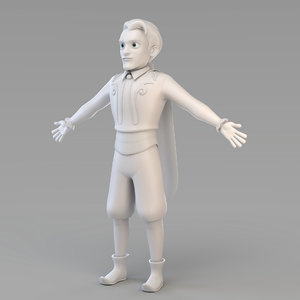 prince 02 3D model