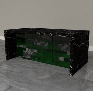 marble counter 3D