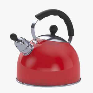 kettle whistling 3D