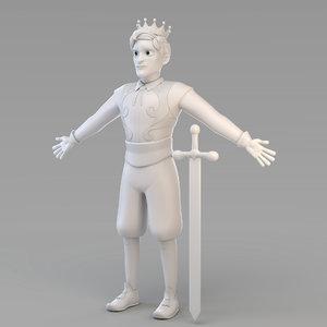 3D model prince 03