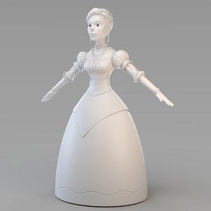 3D princess 01