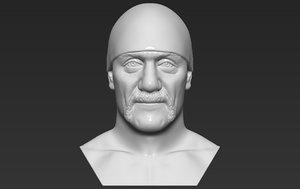 hogan bust printing 3D model