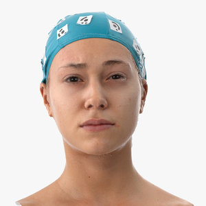 freya human head inner 3D model
