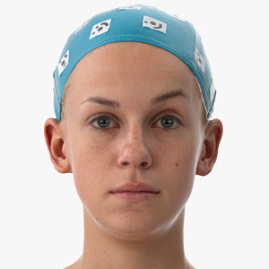 rhea human head outer 3D model