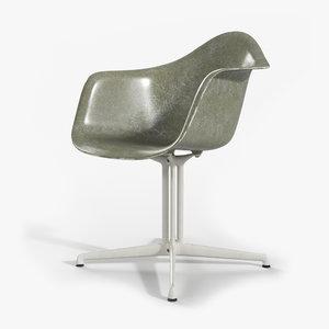 eames plastic armchair dal 3D model
