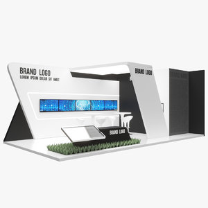 3D stand advertising