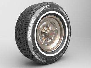 3D classic tire