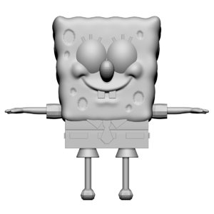 spongebob squarepants sponge 3D