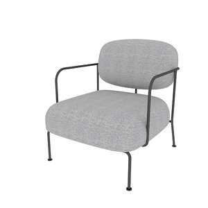 3D model beatles chair lounge