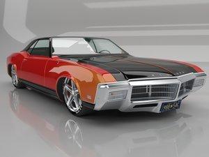 3D car auto model