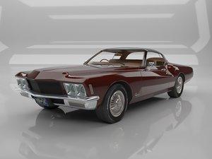 3D car classc model