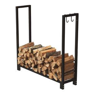 3D model firewood storage rack