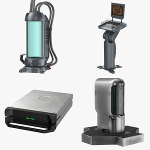 sci fi set device model