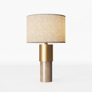 3D table lamp john lewis