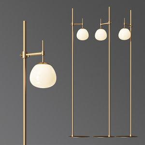 3D floor lamp erich maytoni