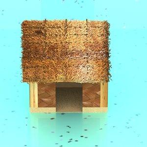 3D cartoon house model