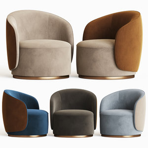 fendi casa anabelle armchair 3D