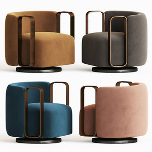 3D kelly bracelet armchair fendi