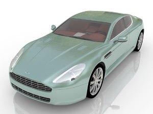 car auto aston martin 3D model