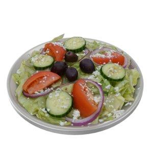 food greek salad 3D