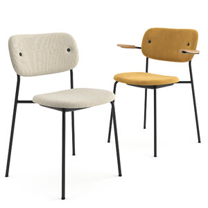 chairs menu 3D