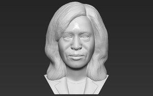kamala bust printing 3D model