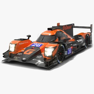 3D g-drive racing team elms model