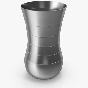 stainless steel water 3D model