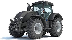 3D valtra s4 series tractor model