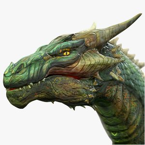 dragon wyvern 3D model
