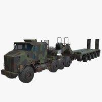 Oshkosh M1070 Truck M1000 green