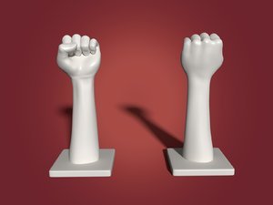 hand knuckles model