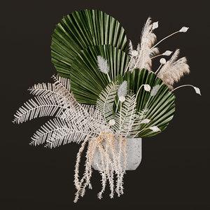 3D flower floweringplants plants