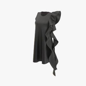 gown dress model