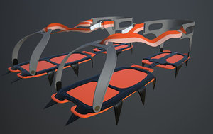 crampons cramp 3D model