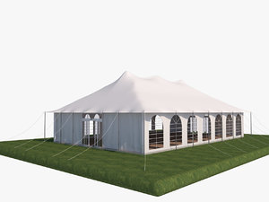 tent shelter 3D model