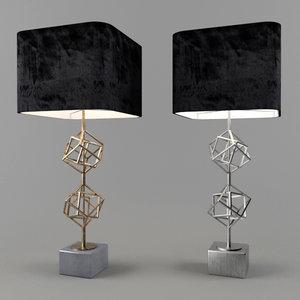 table lamp matrix eichholtz 3D model