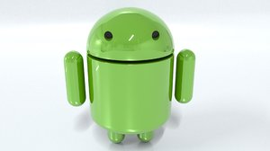 robot android 3D model
