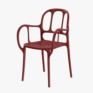 chair magis furniture 3D model