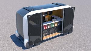 toyota e-palette 3D