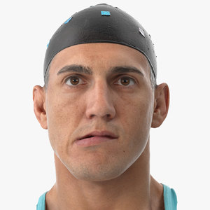 3D mike human head jaw model