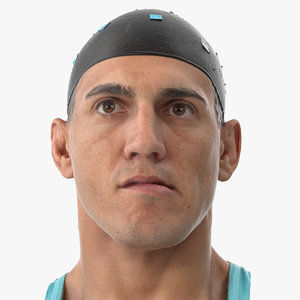 3D mike human head jaw