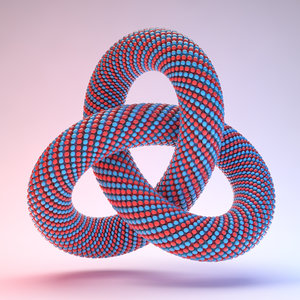 3D abstract knot model