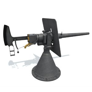 3D 47mm gochkis cannon model
