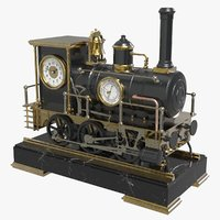 Locomotive Clock