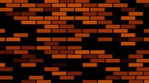 'Red bricks animated background