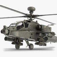 Boeing AH-64 Apache Helicopter 2